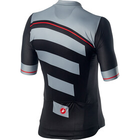 Castelli Trofeo Cykeltrøje Herrer, light black/vortex gray